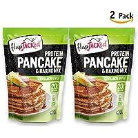 Mezcla de Harina para Pancake Cinnamon Apple -20g Proteína 340g - 2 Pack