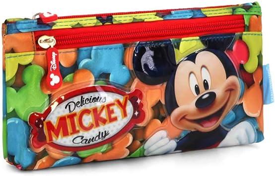 Karactermania Mickey Mouse Delicious Estuches, 22 cm, Rojo: Amazon.es: Equipaje