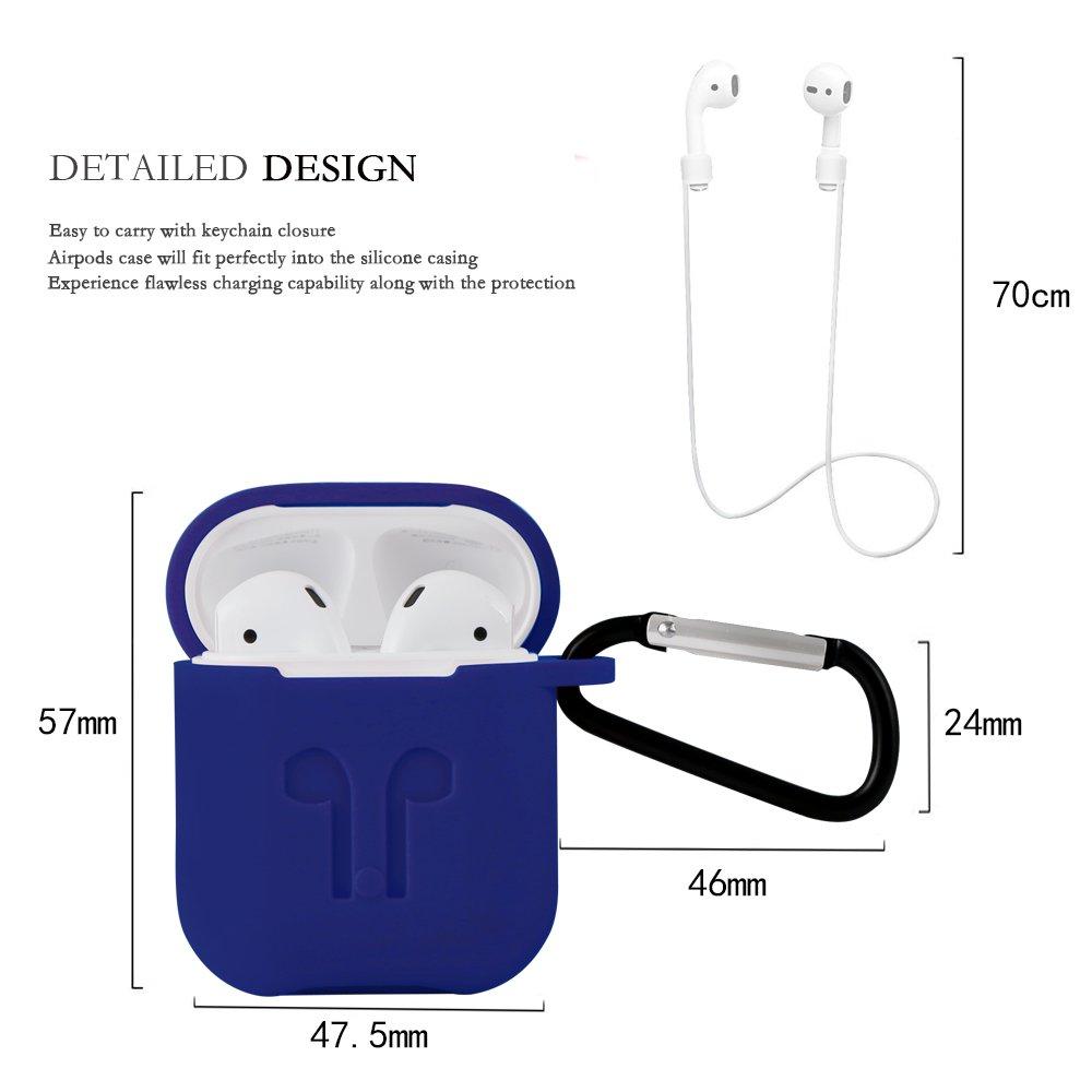Custodia in silicone con fascia sportiva per Apple AirPods Ontube