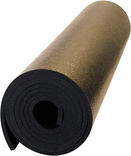 Amazon Com Yoga Direct Mandara Ultra Premium Yoga Mat Black Large Yoga Mat Sports Outdoors