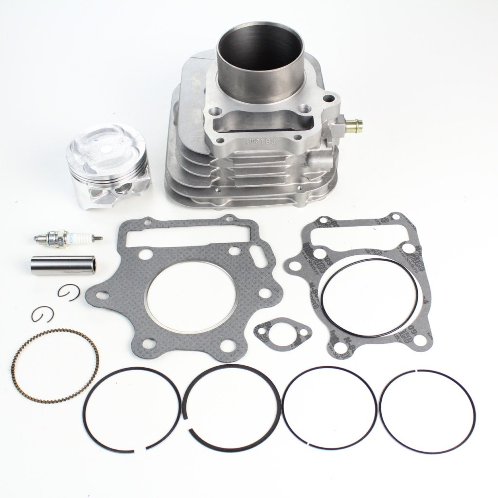 NICHE 74mm 300cc Cylinder Piston Gasket Kit For Honda 1993-2009 Sportrax TRX300 12100-HM3-L00 by Niche