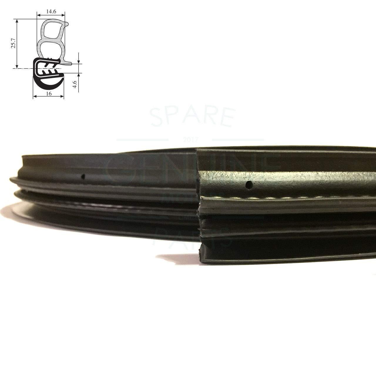 1372705080 RH//LH scorrevole porta guarnizione di tenuta guarnizione in gomma