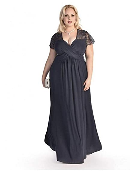 Amazoncom Vestidos Xxl Tallas Grandes Plus Tamaño Para