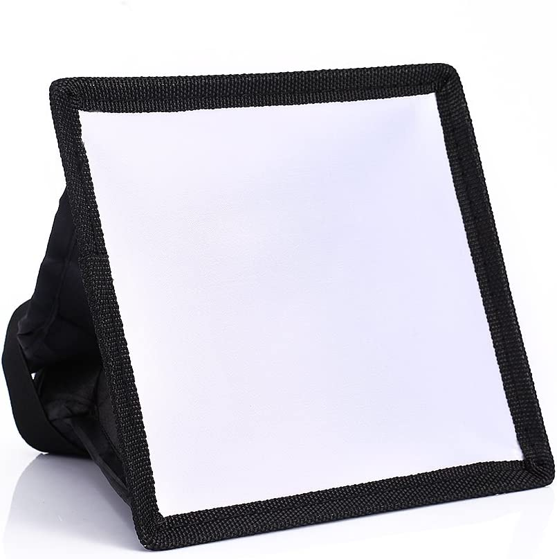Flash Light Speedlite Acouto 1517cm Portable Softbox Soft Box Diffuser for Canon for Sony for Nikon Camera