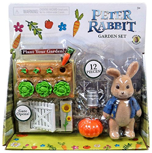 Peter Rabbit Garden (Peter Rabbit Garden Set With Peter Action Figure 3.5