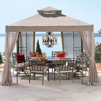 2010 Outdoor Oasis Gazebo Replacement Canopy - RipLock 350 & Amazon.com : OPEN BOX Replacement Canopy Top Cover for JCPenneyu0027s ...