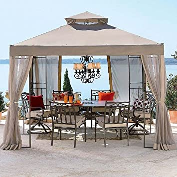 Garden Winds JCP 2010 Outdoor Oasis Gazebo Replacement Canopy : gardenwinds com replacement canopy - memphite.com