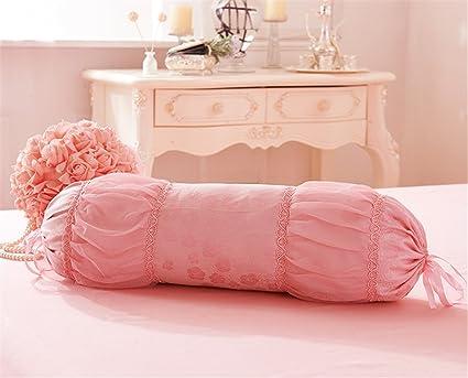 Amazon.com: Lotus Karen Romantic Throw Pillows Lace Ruffles Soft ...