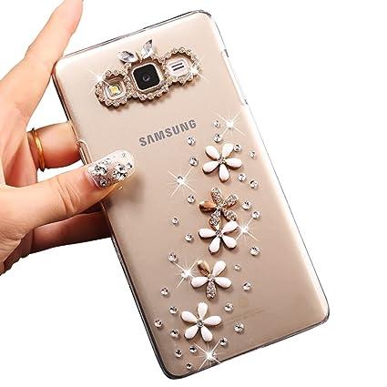 Amazon.com: Sunroyal 3d Bling Glitter ultara Thin Protective ...