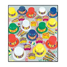 Beistle 88026-100 Colorama Party Favors, 1 Assortment Per Package