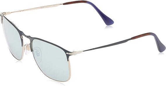 Persol 649 Series PO7359S 1071//56 Blue Light Blue Sunglasses 58MM