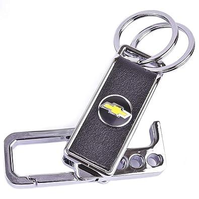 Amazon.com: ChampLED Chevrolet emblema llavero símbolo ...