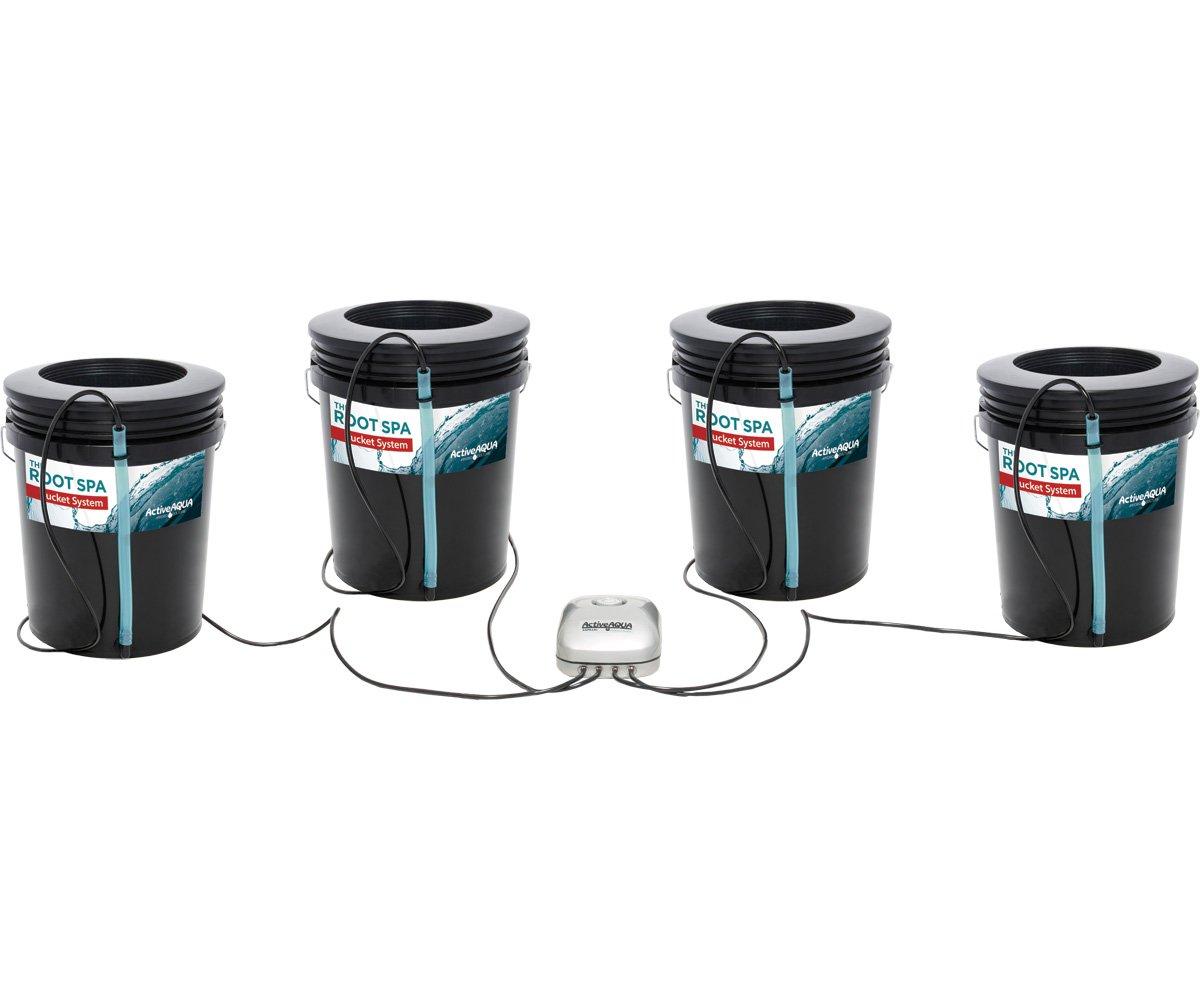 Active Aqua Root Spa 5 gal 4 Bucket System NEW 2018 Model by Active Aqua