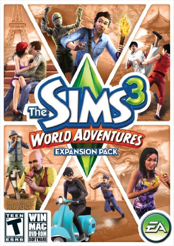 The Sims 3: World Adventures Expansion Pack - 2012 Owl Pink