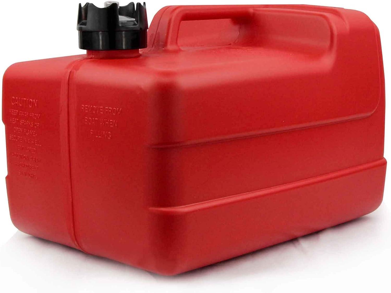 12 Gallon Portable Fuel Tank Low-Permeation w//Gauge Five Oceans FO-4269