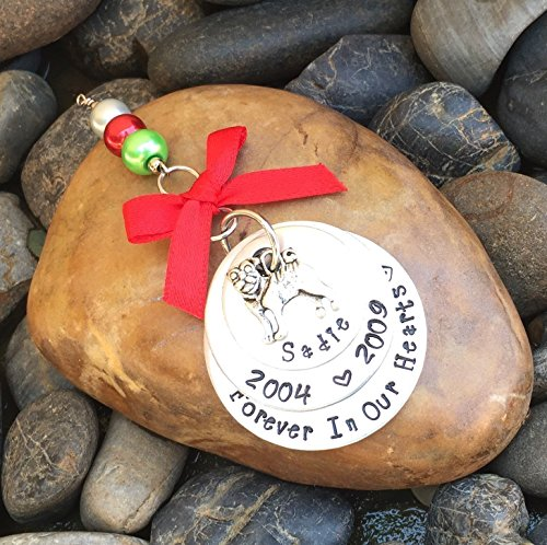 Pug Memorial Christmas Ornament | Pet Memorial Ornament | Dog Keepsake Ornament | Pet Remembrance Ornament | Sympathy Gift (Memorial Personalize Christmas Ornaments)