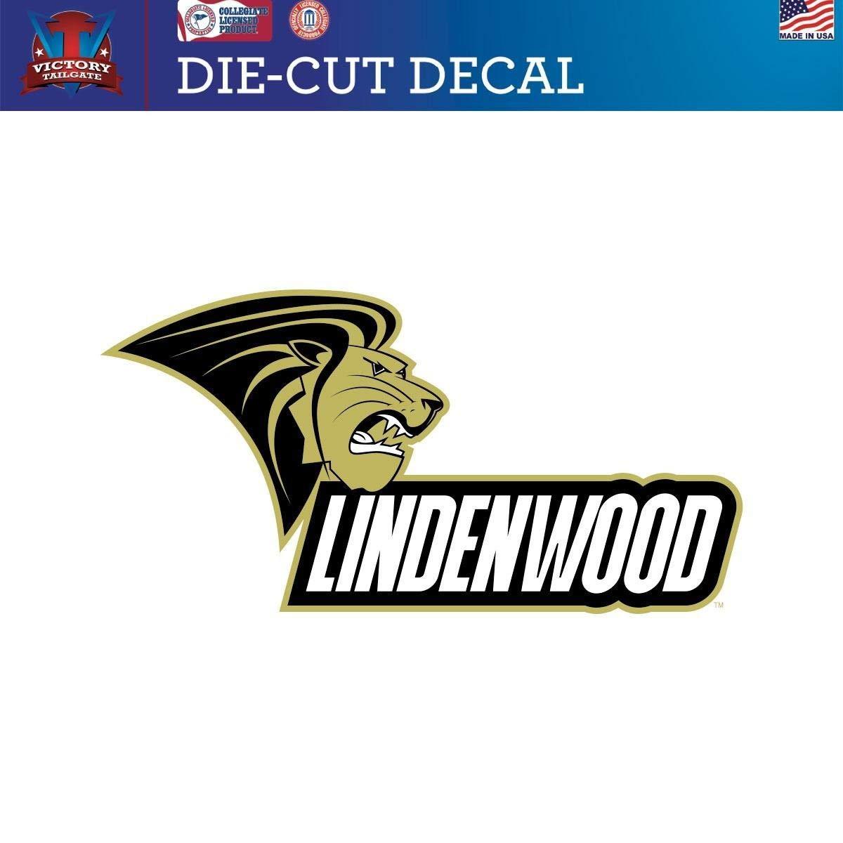 Victory Tailgate Lindenwood University Lions Die-Cut Vinyl Decal Logo 2