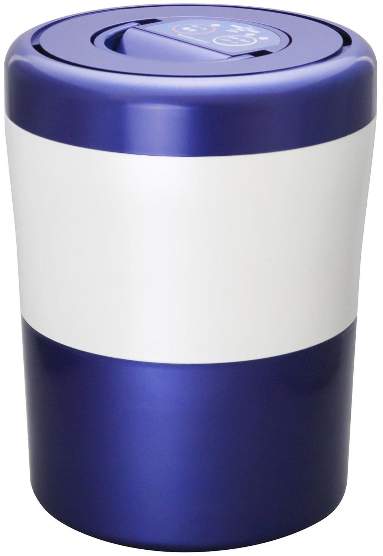 Household garbage weight loss dryer【PARISPARIS CUBE LIGHT】 PCL-31-BWB (Blue stripe)