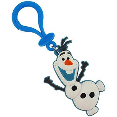 Chicas de Frozen Boys de tacto suave llavero de goma Olaf ...
