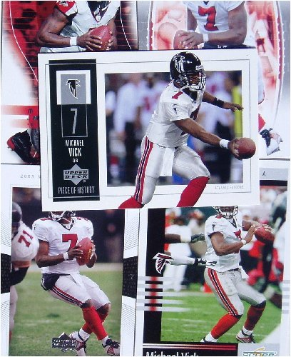Michael Vick 20-card set with 2-piece acrylic case