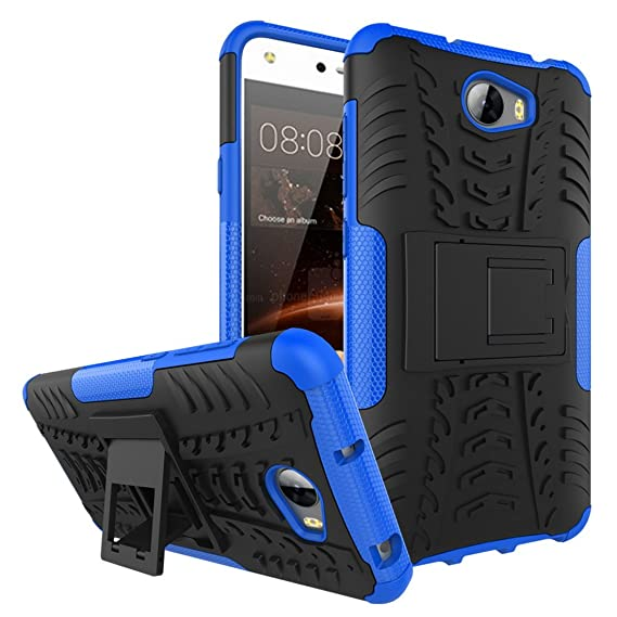 Amazon com: Case Huawei Y5 II Cover Shockproof TPU PC Phone Stand