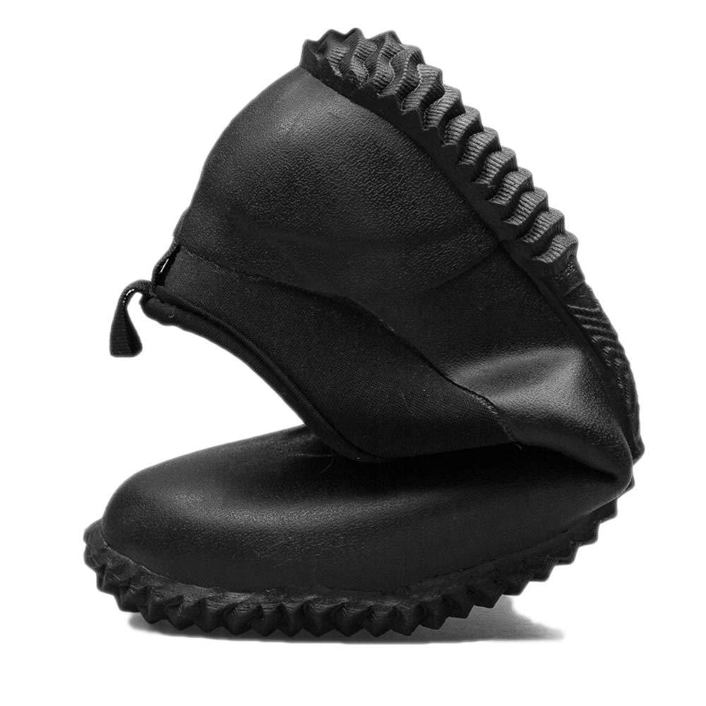 Regenschuhe für Herren Herren Herren Regen Schuhe Mann niedrig Hilfe wasserdicht und atmungsaktiv Männer Kurze Tube Rutschfeste Gummi Herren Regen Stiefel Frühling und Sommer Schneestiefel für Männer 43ac00