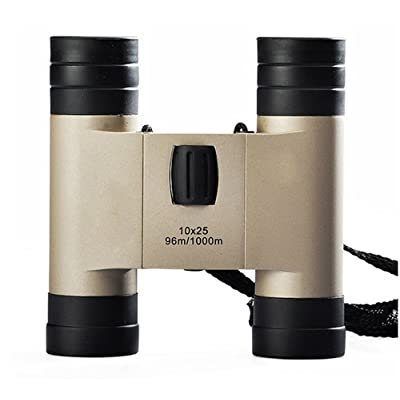 10x25 haute puissance HD jumelles mini poche