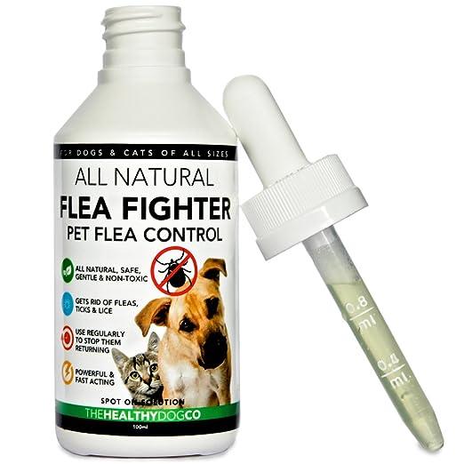 5 opinioni per All Natural Trattamento e prevenzione delle pulci per animali domestici| La