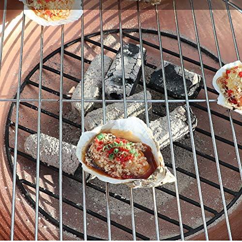 Brasero Chauffage Cheminées Grill Outdoor Bowl Fire Pit Ménage Charbon Chauffage Brazier Poêle Multifonctions Charbon Poêle Poêle Cour Barbecue (Size : C)