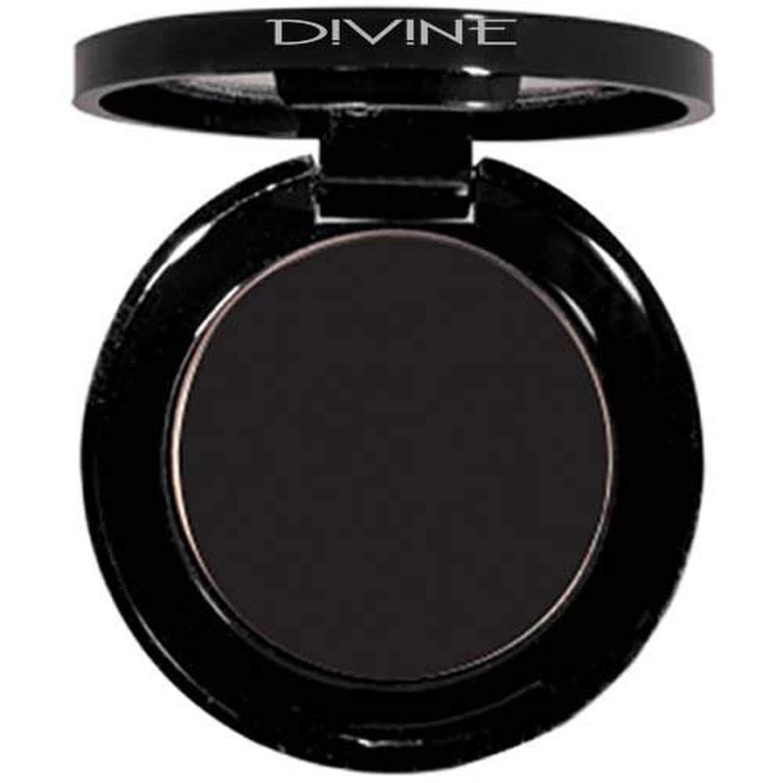 Divine Skin & Cosmetics – Luxurious, BOLD effect Matte Eyeshadows – Black