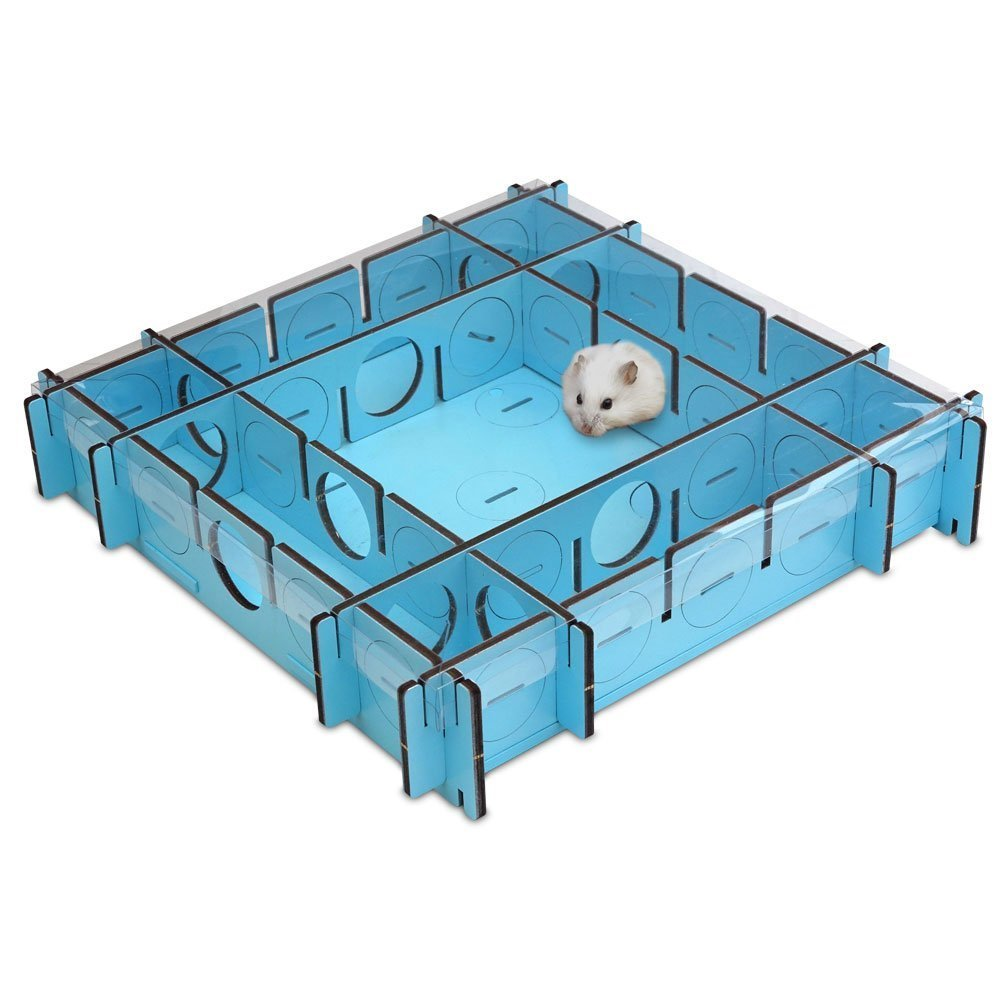 Playtime Maze Reconfigurable Maze for Dwarf Hamsters, Mice and Small Rats