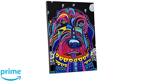 """Heather Galler Labradoodle Dog Gallery Wrapped Canvas 20/""""x30/"""""""