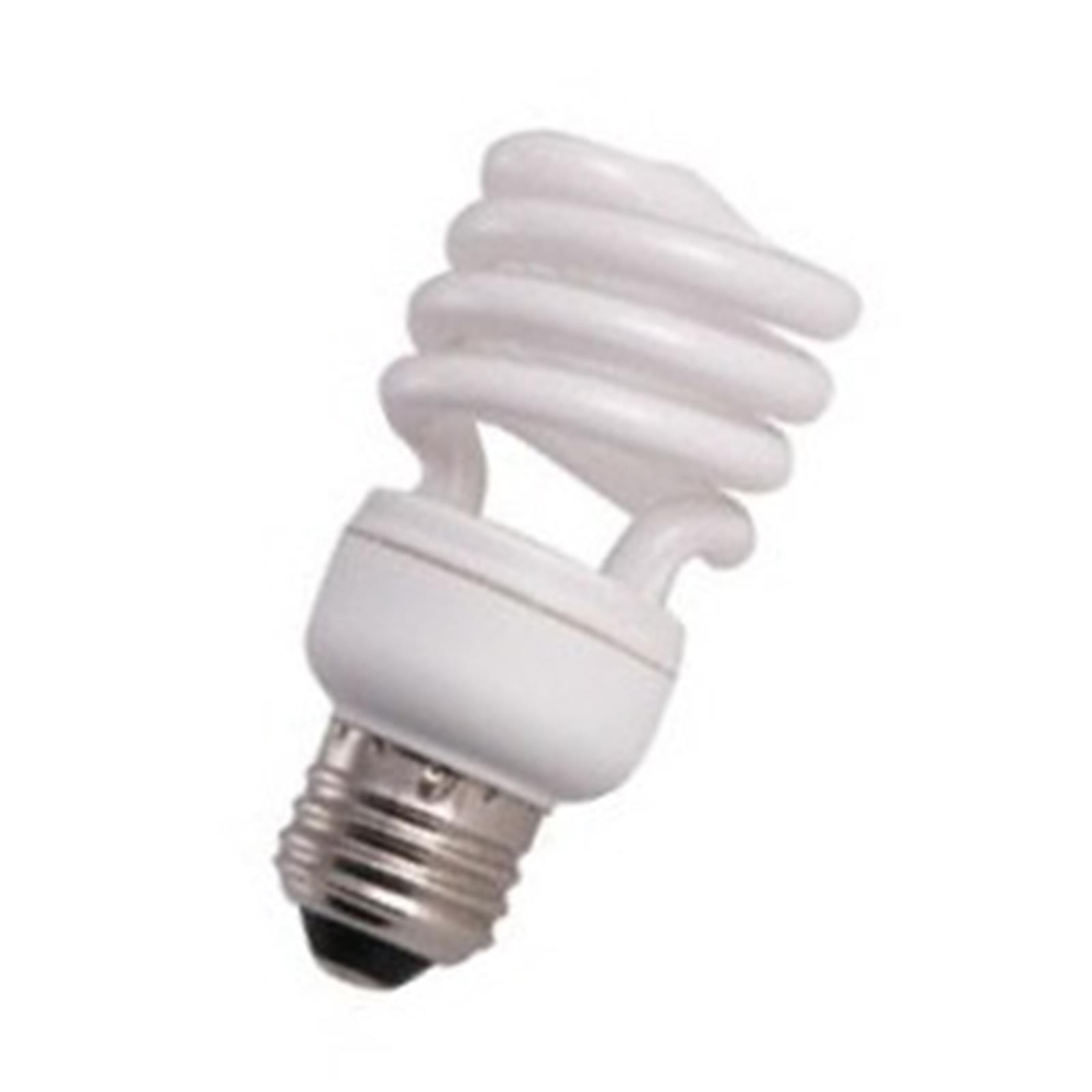 10 Qty. Halco 13W T2 Spiral 2700K Med ProLume CFL13/27/T2 13w 120v CFL Warm White Lamp Bulb