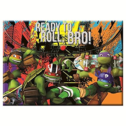A4 carpeta de plástico tortugas Ninja mutantes con botón ...