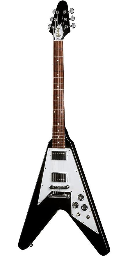 Gibson Flying V Guitarra eléctrica de edición limitada negro