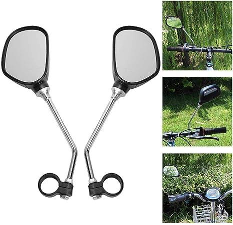 Bnineteenteam Espejo retrovisor de Manillar de Bicicleta de 1 par para Bicicletas de Carretera, Bicicletas de montaña, Bicicletas eléctricas, Bicicletas híbridas: Amazon.es: Deportes y aire libre