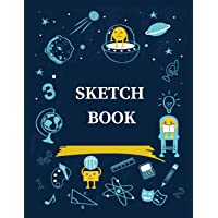 Sketch Book: A Large Journal with Blank Paper for Drawing, Sketching and Creative Doodling (8.5 X 11 Large Blank Pages)