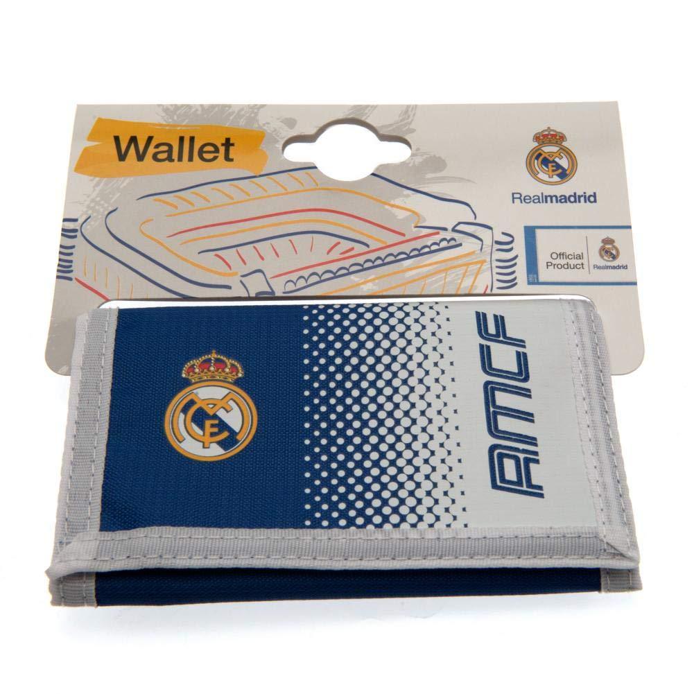 Cartera de nylon con cierre adhesivo Real Madrid FC