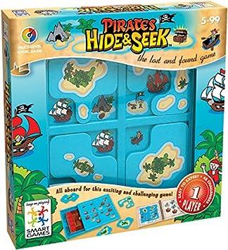Smart - Escondite en la Isla, Juego de ingenio con retos progresivos (51314) (versión en alemán): Amazon.es: Juguetes y juegos