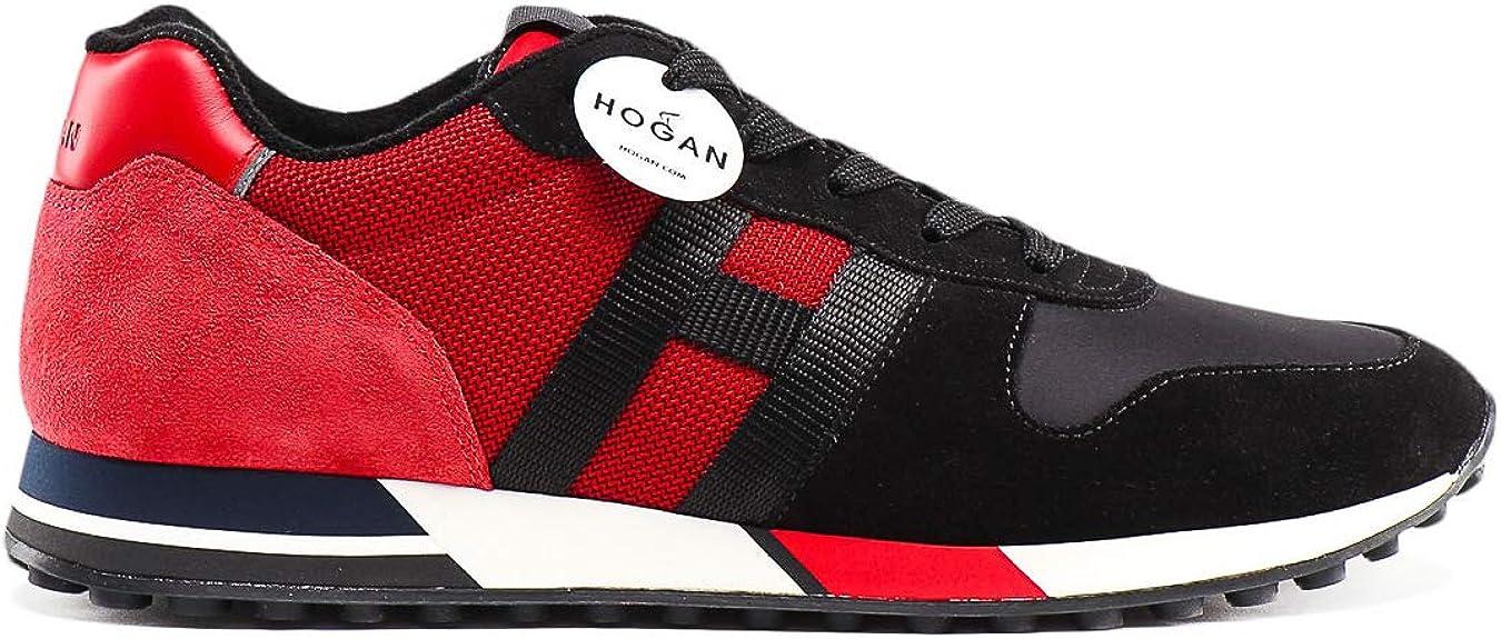 Hogan Men Trainers H383 Trainers Size 10 Uk Black Amazon Co Uk Shoes Bags
