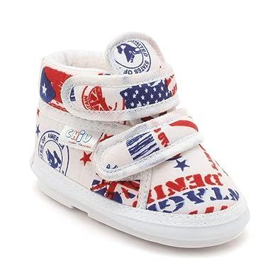 45bb5773976 CHiU Chu-Chu White Shoes with Strap  Amazon.in  Shoes   Handbags