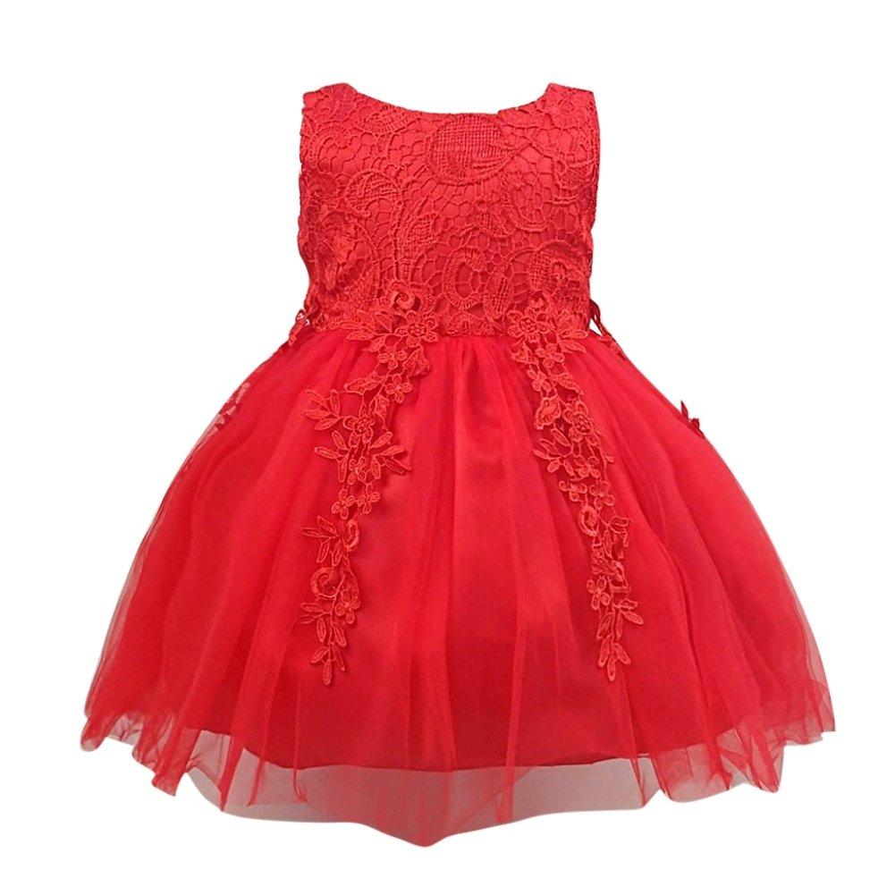 Zhengpin Infant Baby Formal Party Dress Princess Evening Dress