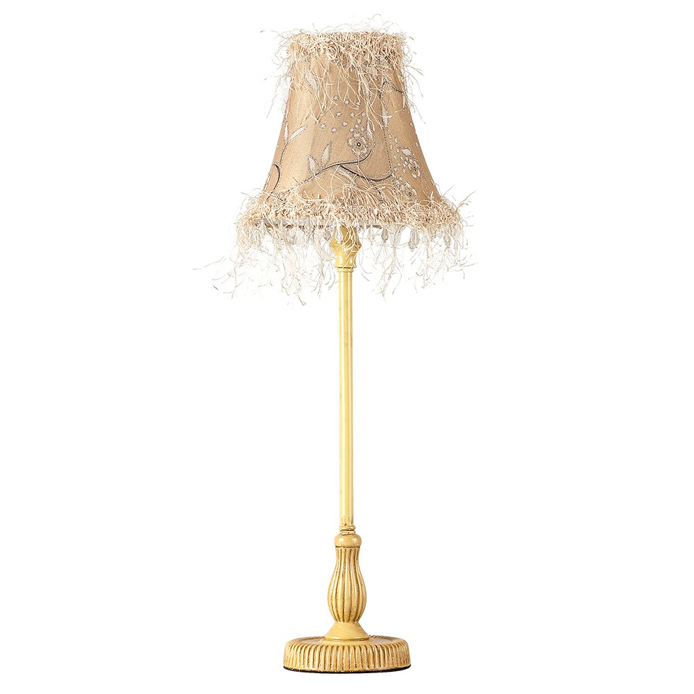 Vintage shabby chic style distressed beige tall table lamp amazon vintage shabby chic style distressed beige tall table lamp amazon lighting mozeypictures Images