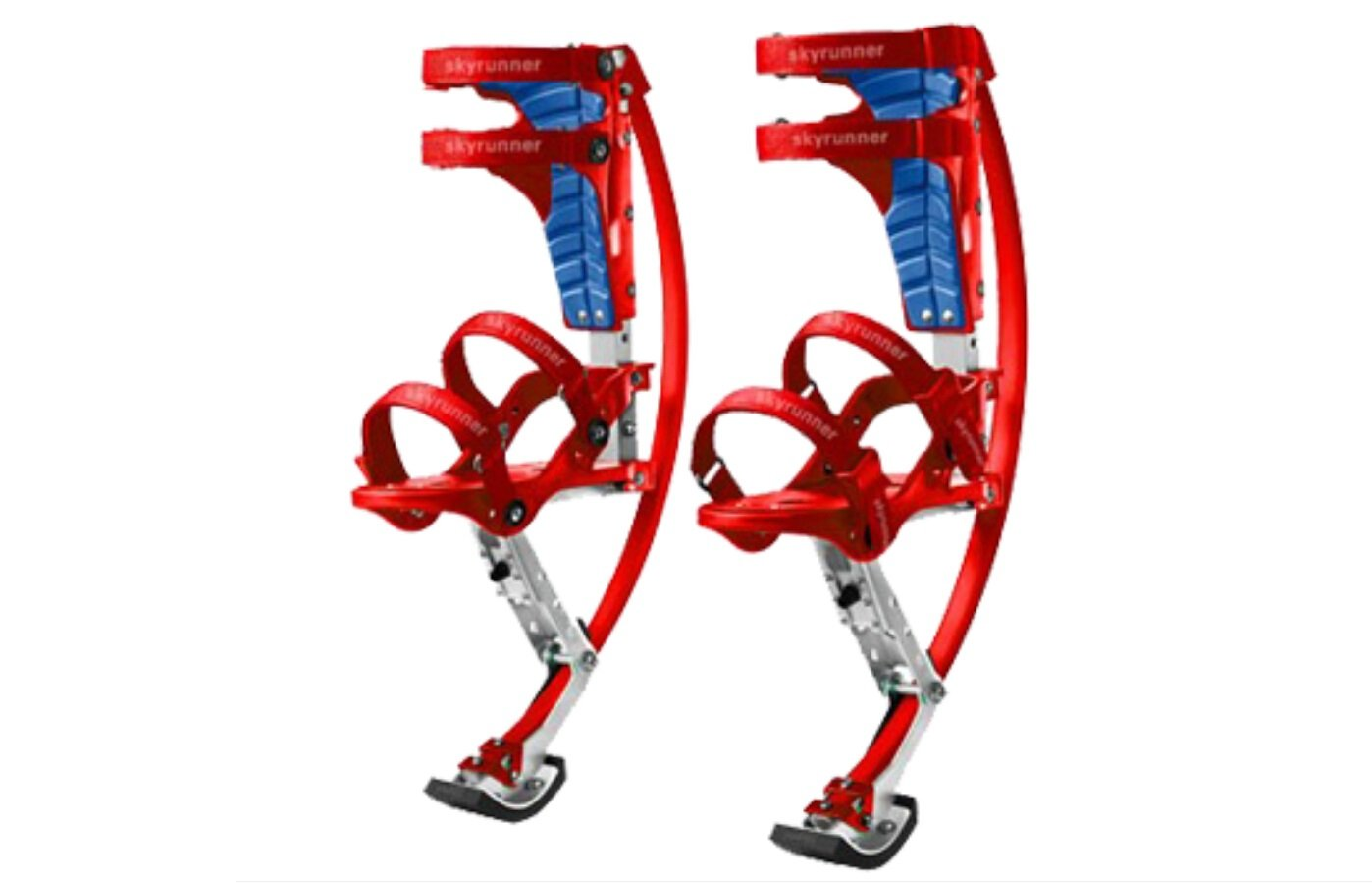 Kids/Child Youth Kangaroo Shoes Jumping Stilts Fitness Exercise (66-110lbs/30~50kg)(red)