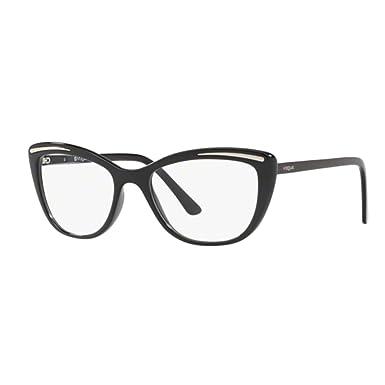 516271afb1d Brillen Vogue VO 5218 BLACK Damenbrillen: Amazon.de: Bekleidung