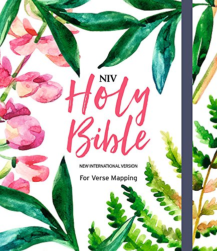 NIV Bible for Journalling and Verse-Mapping: Pink