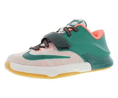 8b7e8400cb2d Nike KD VII Kids Shoes Myistic Green Light Bone Gum Light Brown 669944-