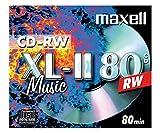Maxell CDRW80 Audio Pack 10