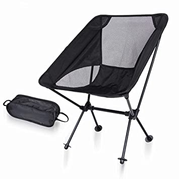 Yamyannie Silla de Camping portátil Outdoor Camping Ultra Light ...