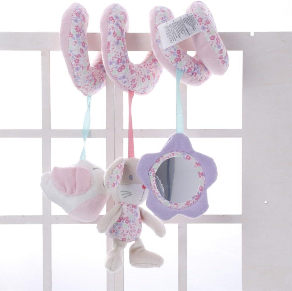 Juguete móvil para bebés, de la maraca Jysport, con peluches colgando